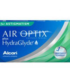 Air Optix Plus Hydraglyde for astigmatism 3